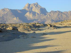 Der Garet El Djenoun, die typische Sicht von Norden her